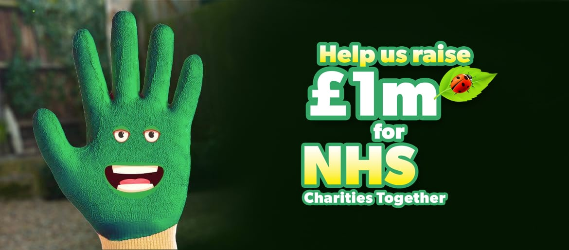 Help Us Raise £1m for NHS charities!